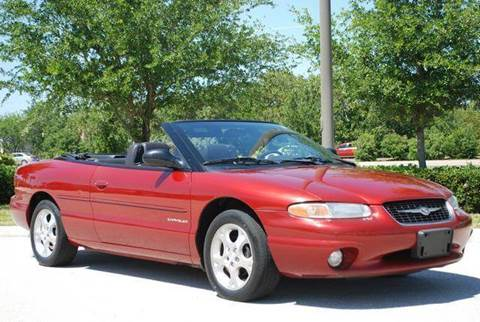 2000 Chrysler Sebring for sale at Auto Quest USA INC in Fort Myers Beach FL