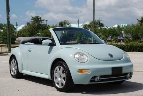 2003 Volkswagen New Beetle for sale at Auto Quest USA INC in Fort Myers Beach FL