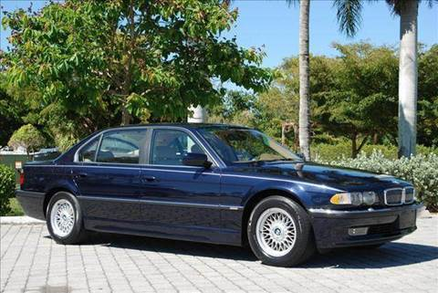 2001 BMW 7 Series for sale at Auto Quest USA INC in Fort Myers Beach FL