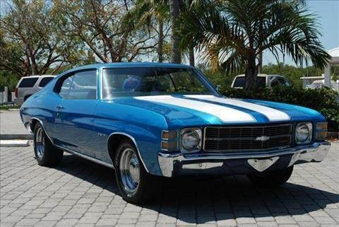 1971 Chevrolet Chevelle for sale at Auto Quest USA INC in Fort Myers Beach FL