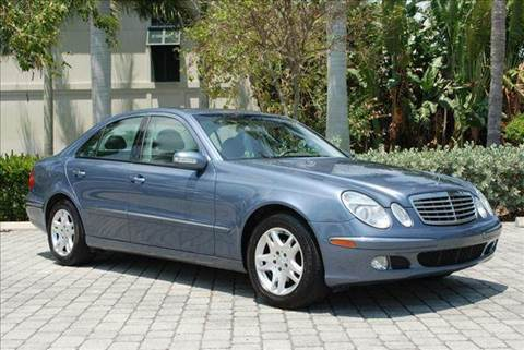 2003 Mercedes-Benz E-Class for sale at Auto Quest USA INC in Fort Myers Beach FL