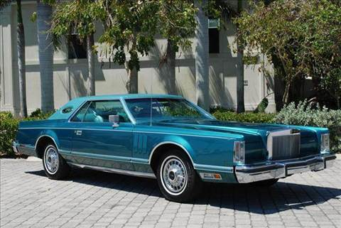 1979 Lincoln Mark V for sale at Auto Quest USA INC in Fort Myers Beach FL