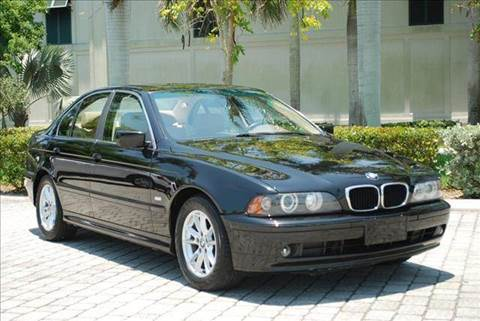 2003 BMW 5 Series for sale at Auto Quest USA INC in Fort Myers Beach FL