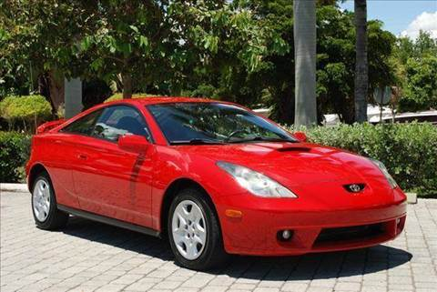 2000 Toyota Celica for sale at Auto Quest USA INC in Fort Myers Beach FL