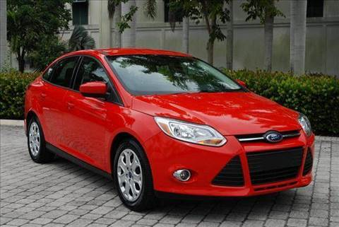 2012 Ford Focus for sale at Auto Quest USA INC in Fort Myers Beach FL