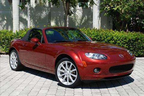 2007 Mazda MX-5 Miata for sale at Auto Quest USA INC in Fort Myers Beach FL