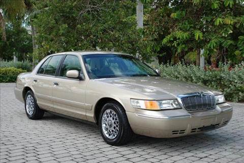 2000 Mercury Grand Marquis for sale at Auto Quest USA INC in Fort Myers Beach FL