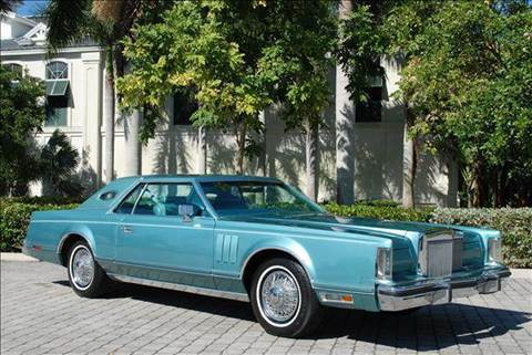 1979 Lincoln Continental for sale at Auto Quest USA INC in Fort Myers Beach FL