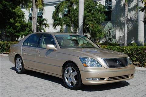 2005 Lexus LS 430 for sale at Auto Quest USA INC in Fort Myers Beach FL