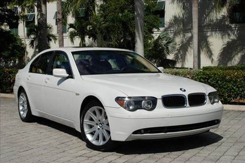 2003 BMW 7 Series for sale at Auto Quest USA INC in Fort Myers Beach FL