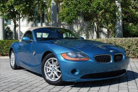 2003 BMW Z4 for sale at Auto Quest USA INC in Fort Myers Beach FL