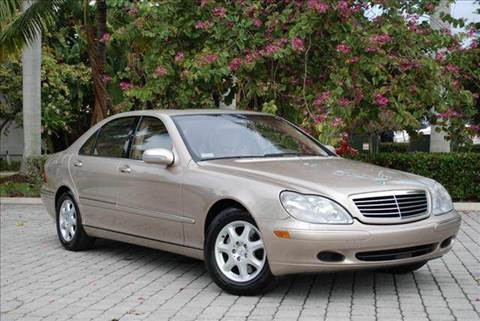 2002 Mercedes-Benz S-Class for sale at Auto Quest USA INC in Fort Myers Beach FL
