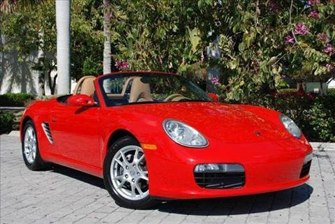 2005 Porsche Boxster for sale at Auto Quest USA INC in Fort Myers Beach FL