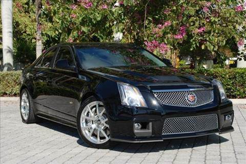 2009 Cadillac CTS-V for sale at Auto Quest USA INC in Fort Myers Beach FL