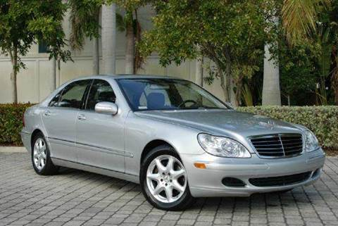 2005 Mercedes-Benz S-Class for sale at Auto Quest USA INC in Fort Myers Beach FL