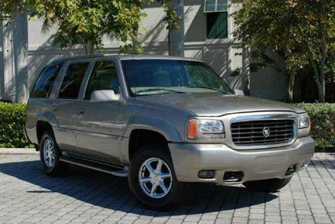 2000 Cadillac Escalade for sale at Auto Quest USA INC in Fort Myers Beach FL