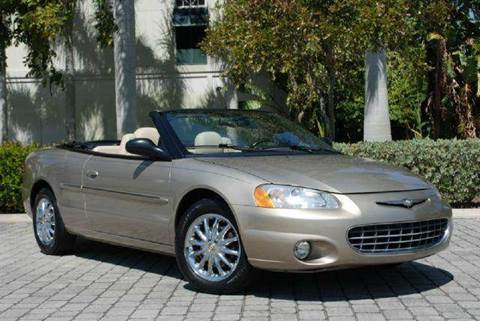 2002 Chrysler Sebring for sale at Auto Quest USA INC in Fort Myers Beach FL