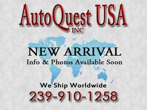 2001 Lincoln Continental for sale at Auto Quest USA INC in Fort Myers Beach FL