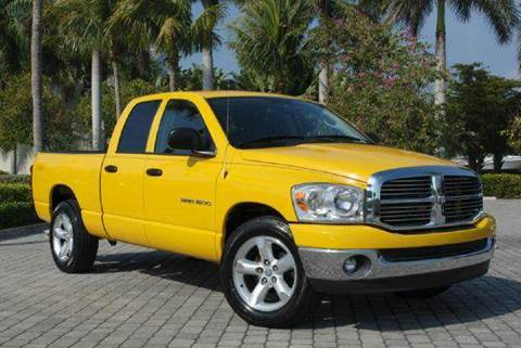 2007 Dodge Ram Pickup 1500 for sale at Auto Quest USA INC in Fort Myers Beach FL
