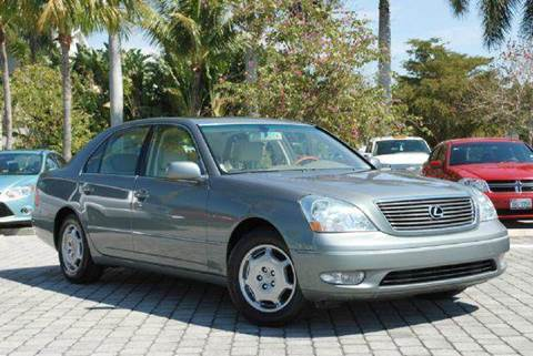 2002 Lexus LS 430 for sale at Auto Quest USA INC in Fort Myers Beach FL