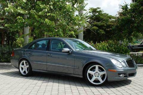 2008 Mercedes-Benz E-Class for sale at Auto Quest USA INC in Fort Myers Beach FL