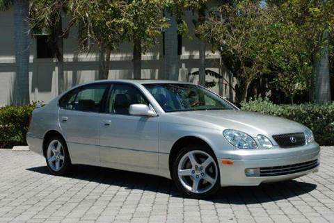 2001 Lexus GS 430 for sale at Auto Quest USA INC in Fort Myers Beach FL