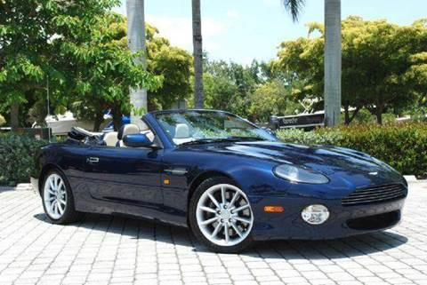 2000 Aston Martin DB7 for sale at Auto Quest USA INC in Fort Myers Beach FL