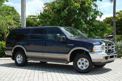 2000 Ford Excursion for sale at Auto Quest USA INC in Fort Myers Beach FL