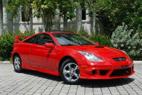 2003 Toyota Celica for sale at Auto Quest USA INC in Fort Myers Beach FL