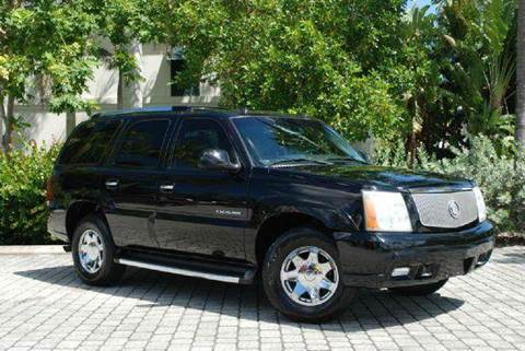 2003 Cadillac Escalade for sale at Auto Quest USA INC in Fort Myers Beach FL