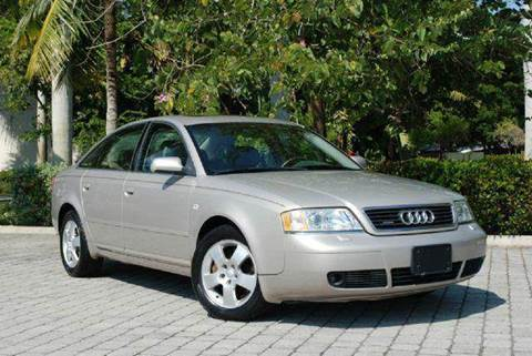 2001 Audi A6 for sale at Auto Quest USA INC in Fort Myers Beach FL