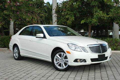 2010 Mercedes-Benz E-Class for sale at Auto Quest USA INC in Fort Myers Beach FL