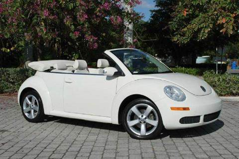 2007 Volkswagen New Beetle for sale at Auto Quest USA INC in Fort Myers Beach FL
