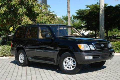 1999 Lexus LX 470 for sale at Auto Quest USA INC in Fort Myers Beach FL