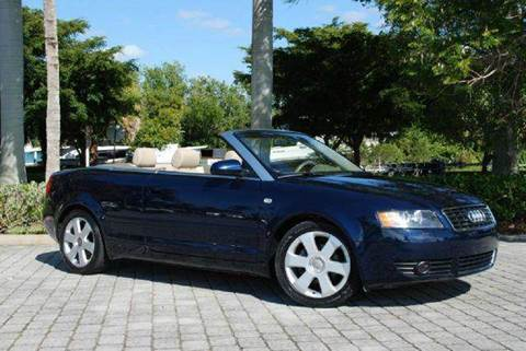 2005 Audi A4 for sale at Auto Quest USA INC in Fort Myers Beach FL