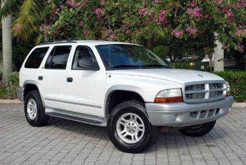 2002 Dodge Durango for sale at Auto Quest USA INC in Fort Myers Beach FL