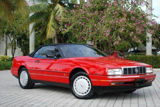 1990 Cadillac Allante for sale at Auto Quest USA INC in Fort Myers Beach FL