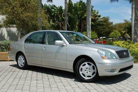 2001 Lexus LS 430 for sale at Auto Quest USA INC in Fort Myers Beach FL
