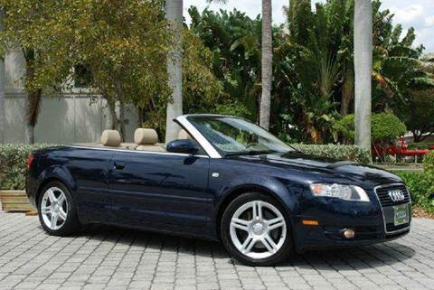 2007 Audi A4 for sale at Auto Quest USA INC in Fort Myers Beach FL