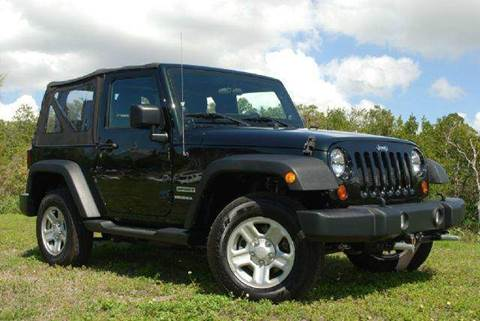 2012 Jeep Wrangler for sale at Auto Quest USA INC in Fort Myers Beach FL