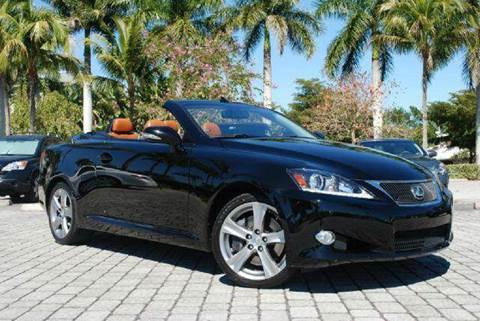 2012 Lexus IS 350C for sale at Auto Quest USA INC in Fort Myers Beach FL