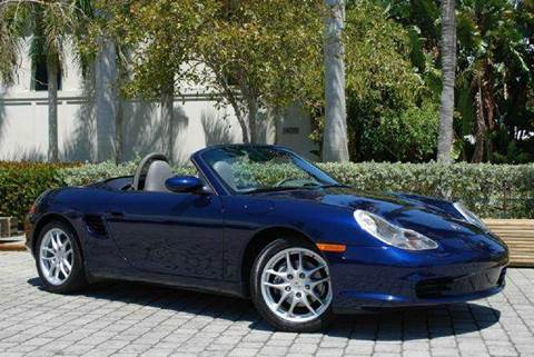 2003 Porsche Boxster for sale at Auto Quest USA INC in Fort Myers Beach FL