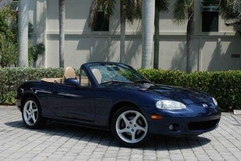 2002 Mazda MAZDASPEED MX-5 for sale at Auto Quest USA INC in Fort Myers Beach FL