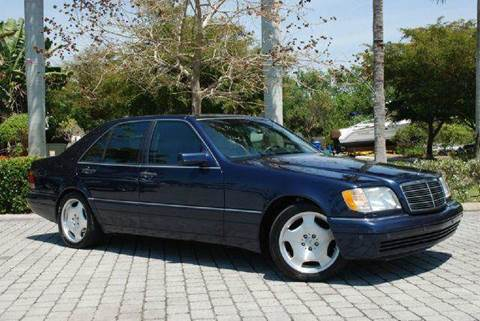 1996 Mercedes-Benz S-Class for sale at Auto Quest USA INC in Fort Myers Beach FL