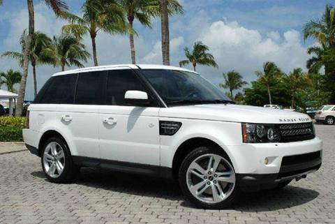 2012 Land Rover Range Rover Sport for sale at Auto Quest USA INC in Fort Myers Beach FL