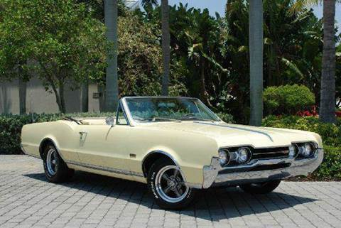 1967 Oldsmobile Cutlass Supreme for sale at Auto Quest USA INC in Fort Myers Beach FL