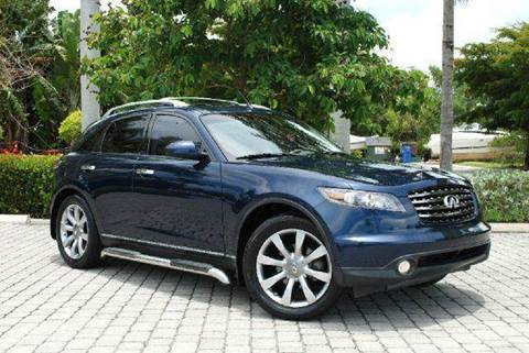 2005 Infiniti FX35 for sale at Auto Quest USA INC in Fort Myers Beach FL