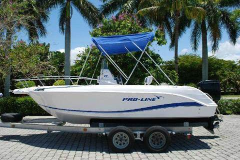 2004 Proline 19 Sport for sale at Auto Quest USA INC in Fort Myers Beach FL