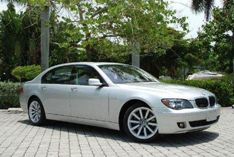 2007 BMW 7 Series for sale at Auto Quest USA INC in Fort Myers Beach FL