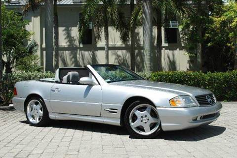 2000 Mercedes-Benz SL-Class for sale at Auto Quest USA INC in Fort Myers Beach FL